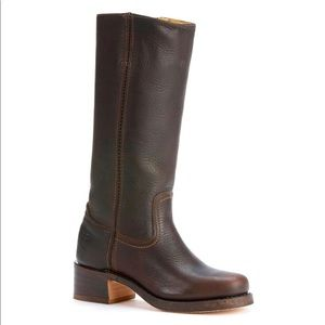 Frye chocolate Campus boot